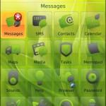Tema Solar by Elecite per palmari BlackBerry RIM 8900 Curve, 9000 Bold e 9500