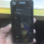 Motorola A3300, uno smartphone Windows Mobile full touchscreen