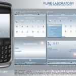 Temi minimalisti e gratuiti per palmari BlackBerry RIM