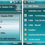 Novità da SPB per Smartphone Windows Mobile: Radio e News reader