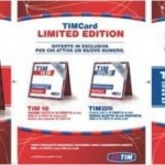 TIM Card Limited Edition: due offerte esclusive