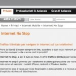 Wind Internet no stop, ma senza VoIP
