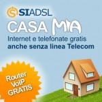 Siportal Casa Mia adsl + chiamate gratis