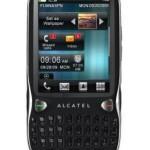 Alcatel OT 806 : touchscreen e tastiera tutto in uno