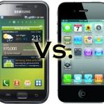 Samsung Galaxy S e Iphone 4: La lotta sul mercato continua