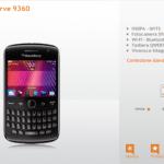 Samsung Galaxy Nesus e BlackBerry 9360 Curve prezzi e disponibilità