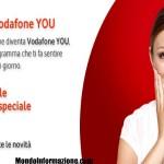 Vodafone You nuove promozioni per gli iscritti