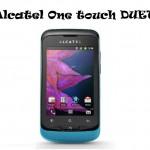 Alcatel Duet App: Dual Sim a 149 euro!