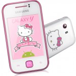 Samsung Galaxy Y Hello Kitty: Un modello molto giovanile