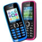 Nokia 110 e 112, cellulari davvero low cost