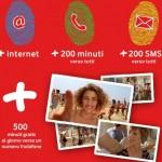 Vodafone lancia  Smart 200 +