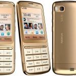 Nokia C3-01 Gold Edition: Un modello prezioso da 200 euro