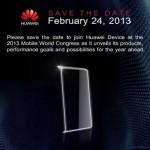 Smartphone: l'Huawei Ascend P2 si svela al MWC