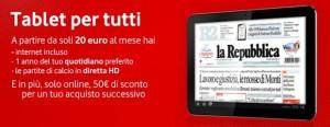 Offerta Vodafone tablet