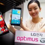LG lancia un nuovo phablet, l'Optimus GK