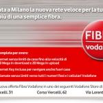 La connessione Vodafone Fibra dovrebbe arrivare in 27città italiane