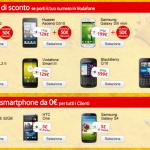 Vodafone, tanti telefonini in offerta