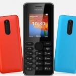 Nokia 108 il nuovo modello economico
