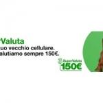 3SuperValuta, il vecchio cellulare vale 150 euro
