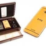 HTC One Gold, uno smartphone a 18 carati