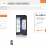 Blackberry Z30 arriva in Italia con Wind