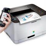 Le prime stampanti Samsung con tecnologia NFC