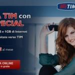 Tim Special la nuova offerta dell'operatore di telefonia mobile