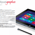 Olivetti lancia un nuovo tablet grafometrico