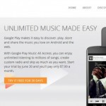 Google Play Music arriva su iPhone e iPad