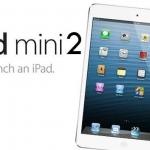 Ipad Mini 2 aumenta la disponibilità sul mercato