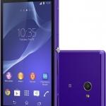 Sony Xperia M2 il successore dell'Xperia M