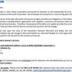 Nokia sta per diventare Microsoft Mobile