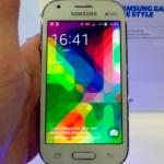 Samsung Galaxy Ace Style smartphone di ottima qualità