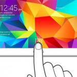 Samsung Galaxy Tab con lettore di impronte digitali