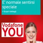 Vodafone You e l'ottima offerta del mese di maggio